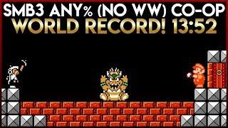 Super Mario Bros. 3 Co-op Any% (No Wrong Warp) World Record 13:52