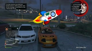 Sending First Mexican To The Moon: GTA 5 Funny Moments