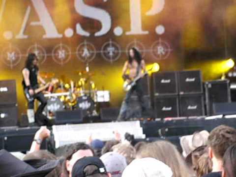 WASP LOVE Machine live@Bang your Head 2009