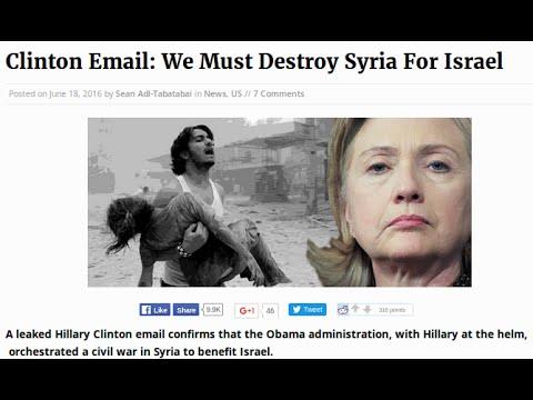 WW3 TURDS HELP ISIS ISIL MINE SYRIA ESCAPE ROUTE,CLINTON IN DEEP SHITE