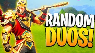 The GREATEST Teammate! Fortnite RANDOM DUOS! - PS4 Fortnite Random Duos Gameplay