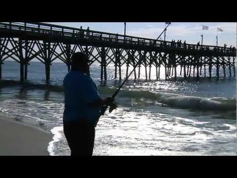Myrtle Beach Pier Fishing Feature for World Fishing Network
