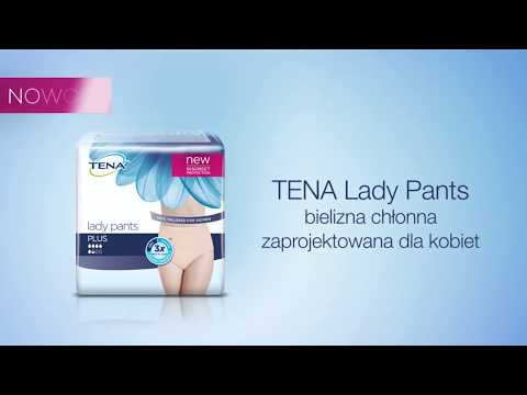 Nowe TENA Lady Pants | Bielizna Chłonna Zaprojektowana Dla Kobiet