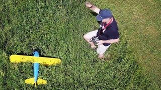 3D printed Stearman crash from Mavic Pro
