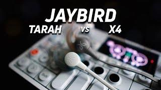 Jaybird Tarah vs Jaybird X4: Which song is better?