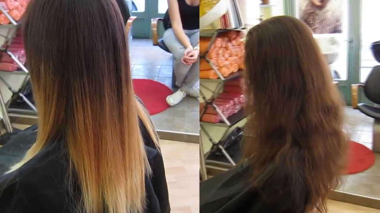 Чем осветлить волосы в домашних условиях омбре 946