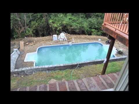 Inground pool installation youtube for Inground pool installation
