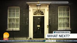 [HD] Good Morning Britain with Tom Bradby: Election 2015 - 7am open