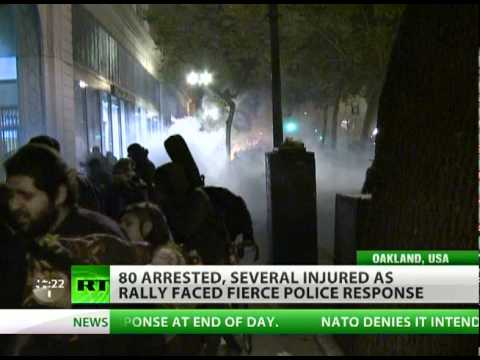 Oakland Revolt: Occupy cop crackdown