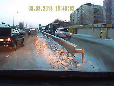 Авария Нефтеюганск ТЦ Норд