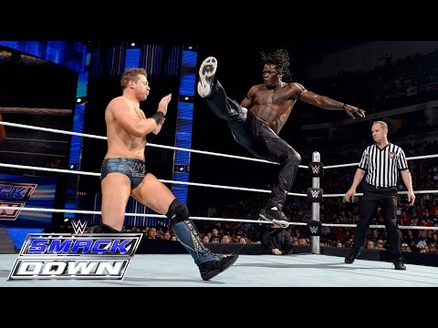 R-truth Vs. The Miz: Smackdown, April 2, 2015 video