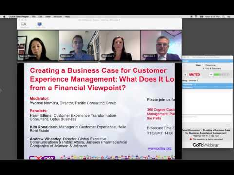 2015 CX Day Asia/Pacific Panel: Creating a Business Case for Customer Experience Management