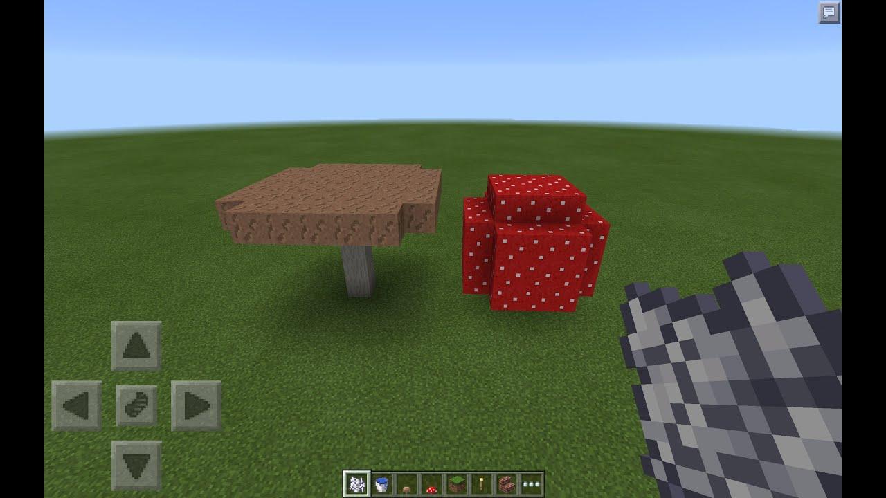 Как сделать тарелку с грибами в minecraft