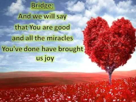 Abba Father we declare we love You