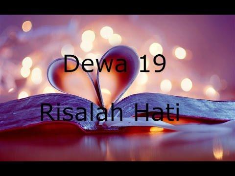 Dewa 19 - Risalah Hati lyrics