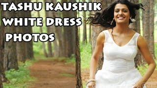 Tashu Kaushik White Dress Photos