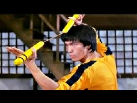 Bruce Lee : Nunchaku ; Bruce Lee Vs Dan Inosanto video