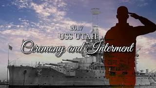 USS Utah Sunset Ceremony and Interment