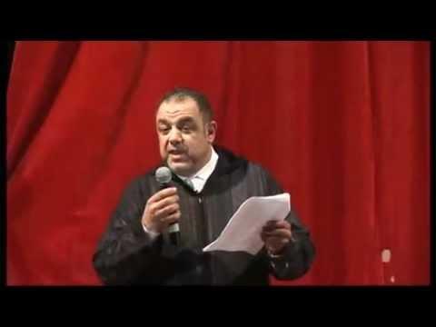 كلمة السيد حميدو السرغيني الرئيس المنظم لملتقى سماع البيضاء دورة 2013