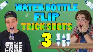 VILDE WATER BOTTLE FLIPS #3 | Guldborg FT. Moller