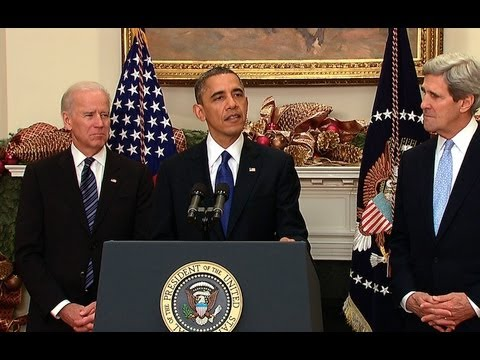 President Obama Nominates John Kerry for Secretary of State