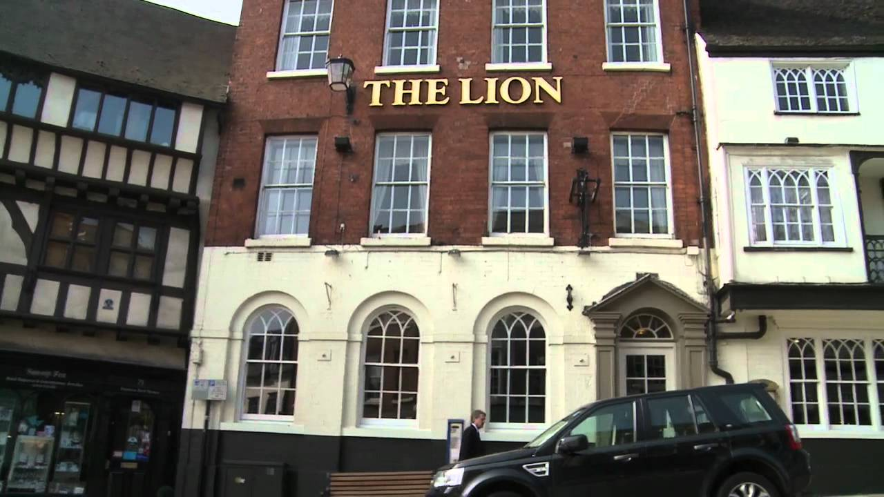 Lion Hotel Shrewsbury History The Lion Hotel Shrewsbury