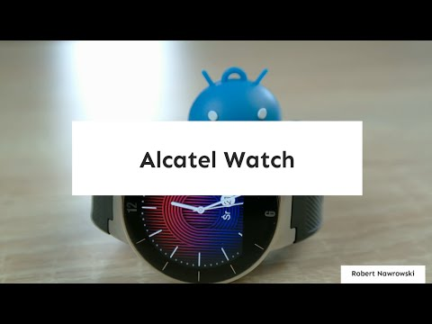 Alcatel ONETOUCH Watch Recenzja PL Review Opinia Test