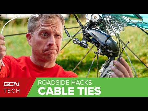 Cable Tie Hacks & Bodges For Your Road Bike To Get You Home