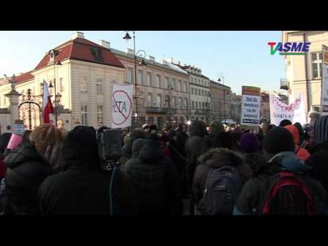 ANTY-ACTA! Demonstracja W Warszawie 11.02.2012
