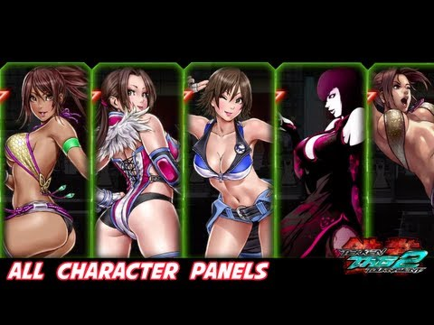 Tekken Tag Tournament 2 All Character Panels