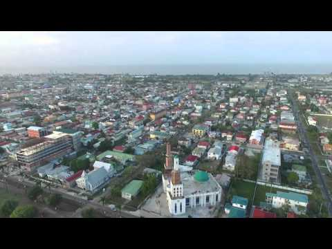 Georgetown, Guyana Drone Flight around GFC