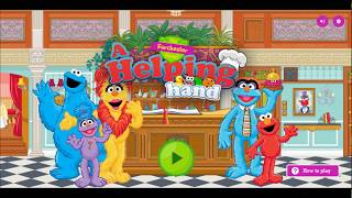 A helping hand. Funny game for kids