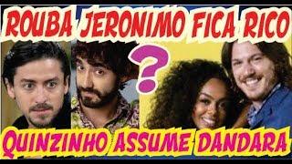 Rouba Jerônimo vira EMPRESÁRIO Quinzinho e Dandara JUNTO em Verão 90