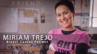 Miriam Trejo, breast cancer patient story