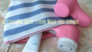 clarisonic mia2 Faded Rose Try Video - クラリソニック ミア2を使ってみました -