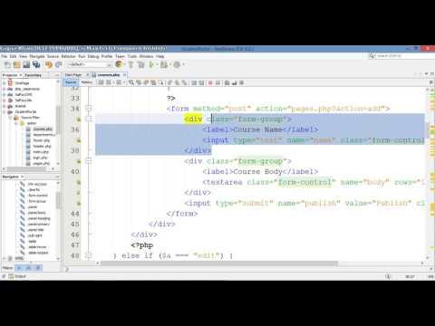 12 – Student Portal in PHP/MySQL (Pashto)