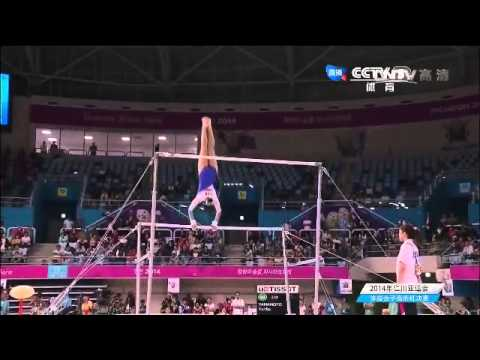 Women's UB Final - The 2014 Asian Games INCHEON Gymnastics 亚运会体操 女子高低杠决赛