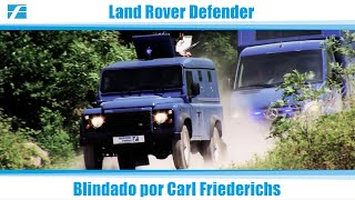 Land Rover Defender - Blindado por Carl Friederichs
