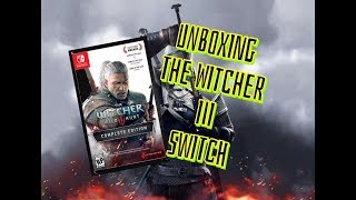 UNBOXING THE WITCHER 3: WILD HUNT, NINTENDO SWITCH! ESPAÑOL!