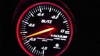 BLITZ RACING METER SD VACUUM 60mm