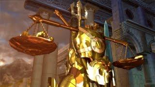 Saint Seiya PS3 Historia Casa Libra Parte 7 Dificultad Oro Batalla Santuario Alta Definición