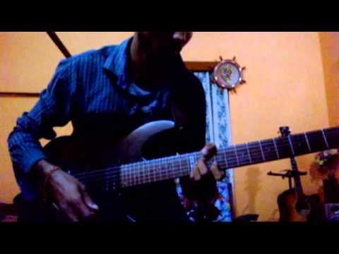 Aahatein Mtv Splitsvilla Guitar intro and solo improvised abit