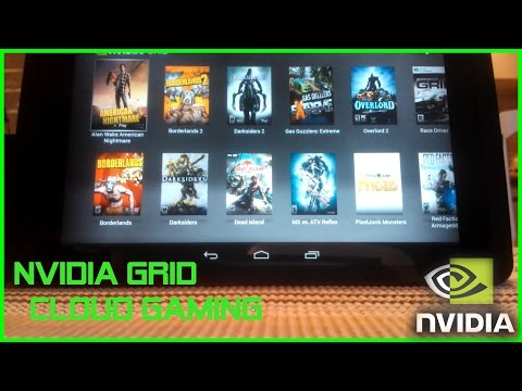 Nvidia Shield Tablet I Grid Beta (Cloud Gaming) Test I