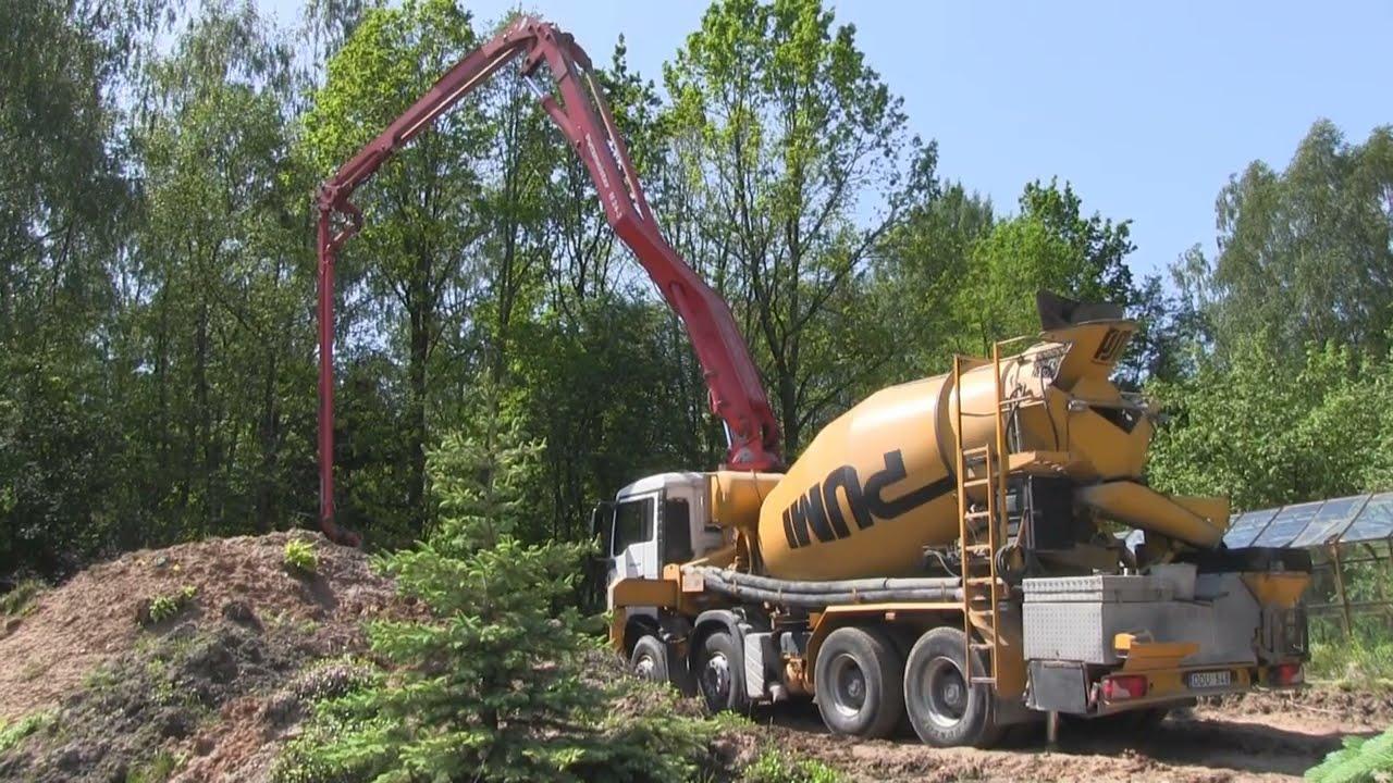 Как сделать цементные блоки
