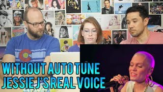 Download Lagu Jessie J - Real Voice Without Auto Tune - REACTION!! Gratis STAFABAND