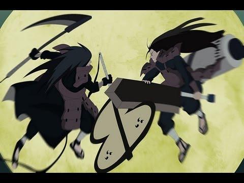 Naruto Shippuden Final Triste 15-- Hashirama vs Madara