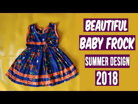 New Baby Frock Summer Design 2018 | Latest Baby Fashion 2018 | HandMade Design