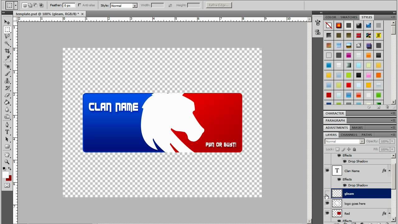 Mlg Clan Logos Clan Logo Tutorial Photoshop