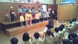 2013/11月誕生会主役たちの発表
