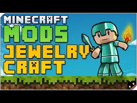 Minecraft Mods 77 - Joyas con efectos brutales! Jewelry Craft